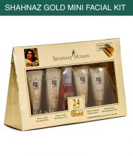 Buy Shahnaz Husain Gold Facial Kit 40g+15ml- Pack of 5 from SnapDeal