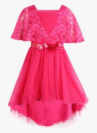 Get 40% off on Fuchsia Party Dress