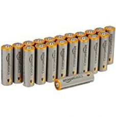 Buy AmazonBasics AA Performance Alkaline Batteries (20-Pack) - Packaging May Vary from Amazon
