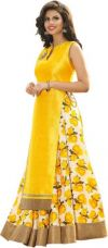 Flat 70% off on Active Printed Lehenga Choli  (Yellow)