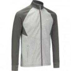Get 40% off on Mid Warm 500 Men's Wool Ski Top - Grey