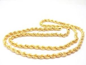 Sparkling Jewellery Gold Plated Gold Alloy Chain (22 inches) for Women for Rs. 189