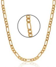 Flat 79% off on Charms Gold Plated Alloy Chain for Men