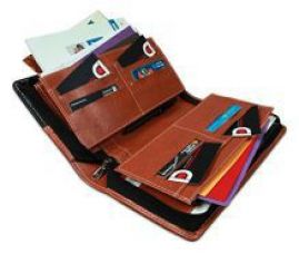 Buy COI Expendable Leatherette Multiple Cheque Book Holder/Document Holder (Black And Brown) from SnapDeal