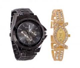 Buy Buy 1 Get 1 Free Wrist Watch Mfpr21 for Rs. 249
