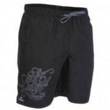 Hendaia Syl men's mid-length swim shorts - Black for Rs. 299