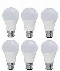 Buy Syska PAG Base B22 7-Watt LED Bulb (Pack of 6, Cool White) from Amazon