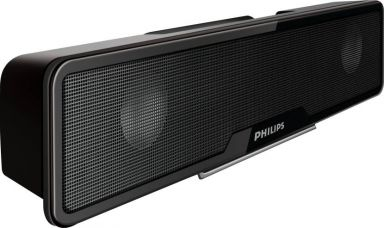 Philips SPA75/94 4 W Laptop/Desktop Speaker  (Black, Stereo Channel) for Rs. 1,888