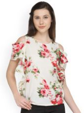 Flat 70% off on Printed Top