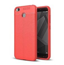 Buy Go Hooked TPU Flexible Auto Focus Shock Proof Back Cover For Mi A1 (Red) from Amazon