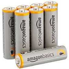AmazonBasics AA Performance Alkaline Batteries (8-Pack) - Packaging May Vary for Rs. 249
