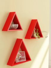 Set of 3 Wall Shelves for Rs. 491