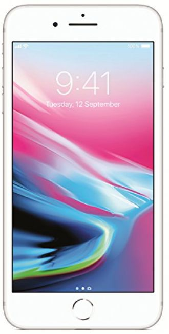 Buy Apple iPhone 8 Plus (Silver, 256GB) from Amazon