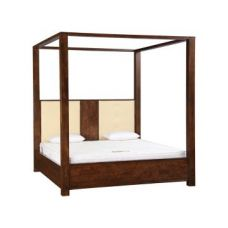 Flat 56% off on Atlas 4 Poster King Bed