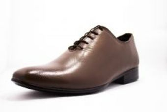Molessi Single Piece Genuine Leather Brown Designer Shoes-(code-ml15f428s6_p) for Rs. 1,640