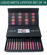 Buy Huda Beauty Liquid Matte Lipstick SPF 15 Collection Set of 16 for Rs. 936