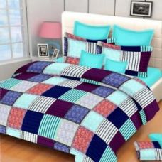 Buy Exporthub 120 TC Pure Cotton Double Bedsheet from Ebay
