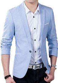 Creative Mens Slim Fit Blazer