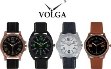 Buy Volga Branded Fancy Look New Latest Awesome Collection Young Boys Qulity Lather Waterproof Designer belt With Best Offers Super26 Watch  - For Men for Rs. 1,113