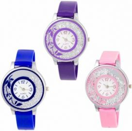 Buy OpenDeal New Stylish Moveble Diamond Combo Watch For Girls & Women OD-189-26 Watch  - For Girls from Flipkart