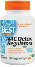 Get 45% off on Doctor's Best NAC Detox Regulators with Seleno Excell -- 60 Veggie Caps  (60 No)