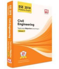 Get 40% off on ESE 2018: Preliminary Exam.: Civil Engineering Objective Paper - Volume II