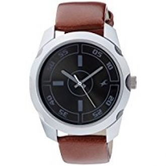 Fastrack Casual Analog Black Dial Men's Watch