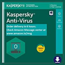 Buy Kaspersky Anti-Virus Latest Version- 1 PC, 1 Year (Email Delivery in 2 hours- No CD) from Amazon