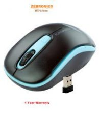 Zebronics DASH Wireless Optical Gaming Mouse  (Black) for Rs. 699