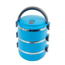 Get 31% off on 6th Dimensions Three Layer Stainless Steel Hot Vaccum Insulated Lunch Box (blue)