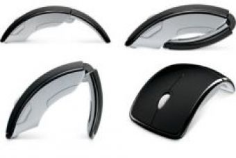 Get 67% off on Optical Wireless Arc Mouse 2.4ghz Folding Mouse Wireless With Mini Sensor