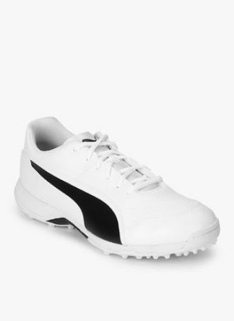 Puma Evospeed One8 R White Cricket Shoes for Rs. 3499 - Dealplatter.com 80e415833