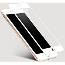 CHL High Quality Colored Tempered Glass Screen Protector For Apple iPhone 6 Plus - White for Rs. 249