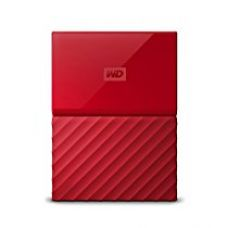 Buy WD My Passport 2TB External Hard Drive (Red) from Amazon