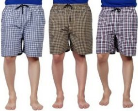 Zoldy Checkered Men's Boxer for Rs. 260