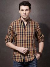 Flat 30% off on Regular Checked Casual Shirt