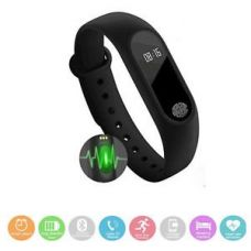 Bingo M2 Smart Band With Heart Rate Sensor Features And Many Other Impressive Features, Water Proof Or Sweat Free Compatible With All Device (Black) for Rs. 649
