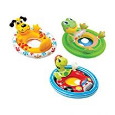 Buy Intex Inflatable See Me Sit Pool Ride, Multi Color from Amazon