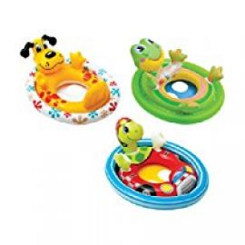 Intex Inflatable See Me Sit Pool Ride, Multi Color for Rs. 400