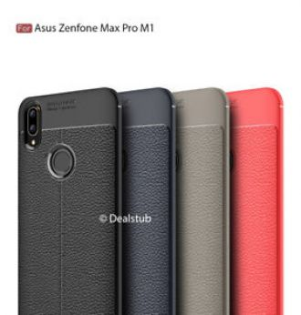 competitive price 807db 244bb Buy For Asus Zenfone Max Pro M1 Autofocus Soft Leather Look Design ...