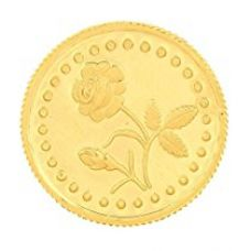 Buy Malabar Gold and Diamonds 1 gm, 24k (999) Yellow Gold Precious Coin from Amazon