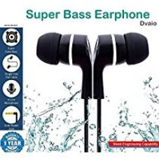 SBA999 Dvaio Dolby Sound Bomb Series Audio Bass In-Ear Earphone/Headphone with Mic Compatible with LG V10 for Rs. 240