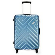 Aristocrat Polycarbonate 68 cms Arctic Blue Suitcases (MAZE68TZATB) for Rs. 3,666