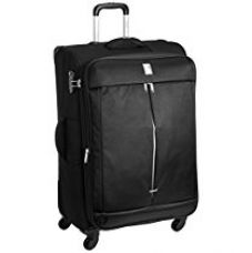 Buy Delsey Flight Soft 77Cm Black Check-In Trolley Luggage (00023482100C9) from Amazon
