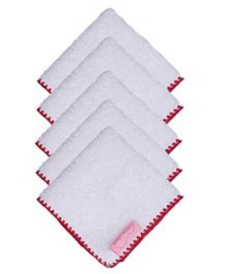 Buy Mumma's Touch Organic Baby Face Towel With Red Border - Small from FirstCry