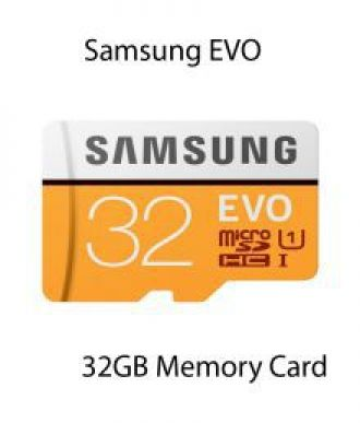 Get 35% off on Samsung EVO 32GB MicroSDHC Class 10 95 MB/s with SD adapter