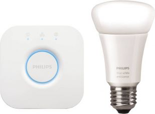 Buy Philips Hue Mini Starter Kit with Bridge (White Ambiance) for Rs. 6,000