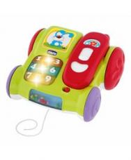 Buy Chicco Musical Pull Along Phone - Green from FirstCry
