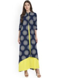 Printed A-Line Kurta for Rs. 599