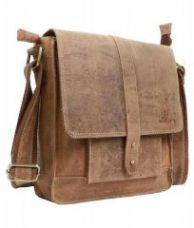 Inindia Unisex Casual Pure Leather Cum Tablet/phone/cosmetics Bag(bag_9*11inch) for Rs. 1,250